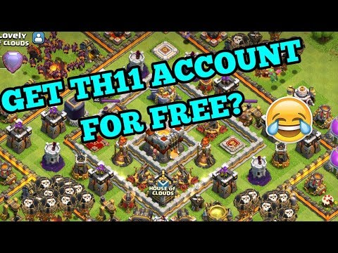 CLASH OF CLANS {GET TH11 FOR FREE is it a joke} COC