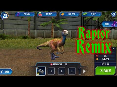 Raptor Remix by [T-XG]-Jurassic World:The Game