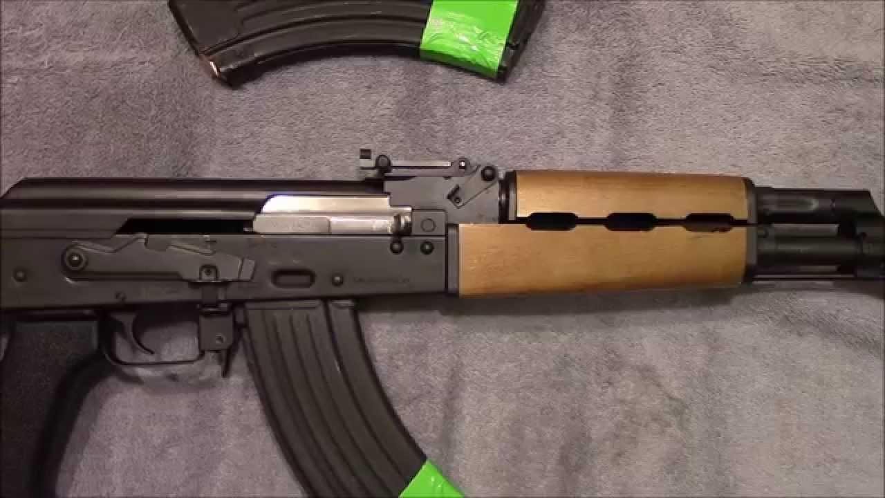 Zastava N-PAP AK-47 with upgrades