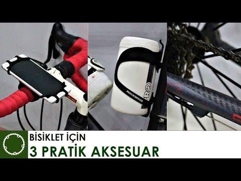 BİSİKLET İÇİN 3 PRATİK AKSESUAR - Rockbros & GearBest