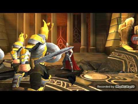 Hodgepodgedude играет Тор 2 Царство Тьмы iOs (летсплей геймплей)