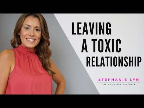 What you MUST do to LEAVE an Emotionally Abusive Relationship | Stephanie Lyn Coaching