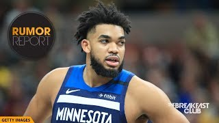 Prayers Up For Karl-anthony Towns' Mother During Her Battle With The Coronavirus