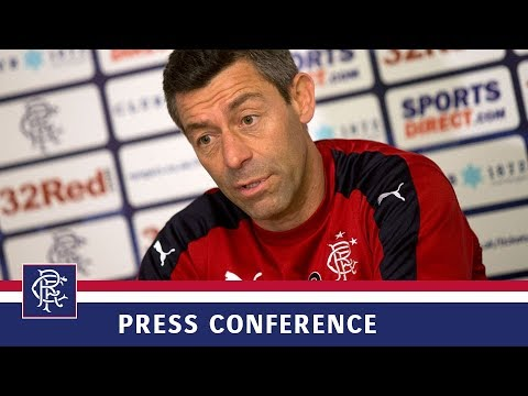 PRESS CONFERENCE | Pedro Caixinha | 17 Aug 2017