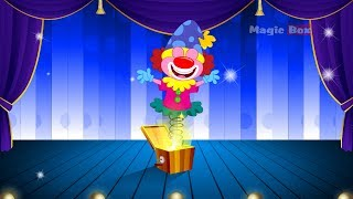 Mein Jack In The Box - English Nursery Rhymes - Cartoon And Animated Rhymes