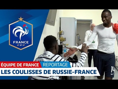 Equipe de France : les coulisses de Russie - France (1-3) I FFF 2018