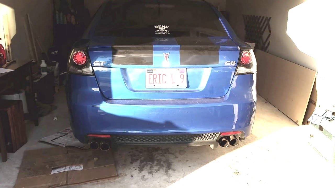 G8 GT BTR LS3 Stage II cam cold start and idle