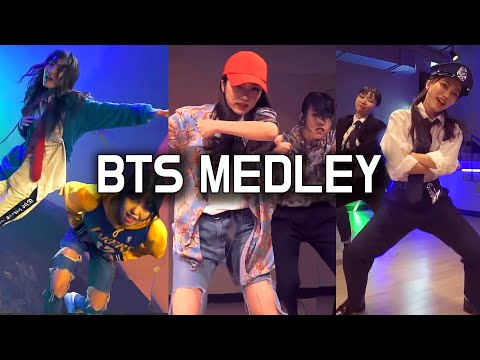 방탄소년단 BTS MEDLEY COVER DANCE & STYLING EVOLUTION  | FAIRY TINA 페어리 티나