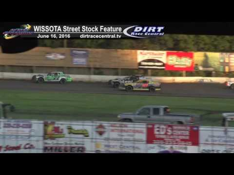 KRA Speedway 6/16/16 WISSOTA Street Stock feature 14 Straight feature wins