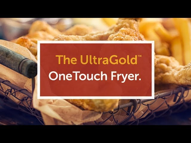 UltraGold OneTouch Deep Fryer