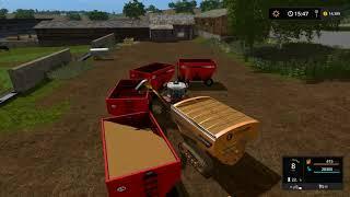 Farming simulator 17 - Blickling timelapse ep#50 Harvesting.