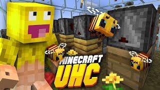 AUTOMATYCZNA FARMA PSZCZÓŁ 1.15 | Minecraft UHC