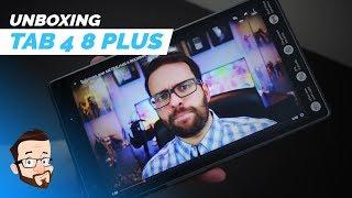 Lenovo ARREBENTA com Tab4 8 Plus! ÓTIMO pra ler quadrinhos!