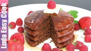 ЛУЧШИЕ ШОКОЛАДНЫЕ ПАНКЕЙКИ Очень пышные ОЛАДЬИ на молоке | Chocolate Pancakes Recipe