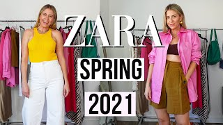 WHAT I GOT FROM ZARA Spring Collection 2021 | Try on!