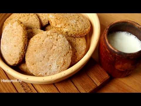 Диетическое овсяное печенье - 5 пошаговых рецептов с фото