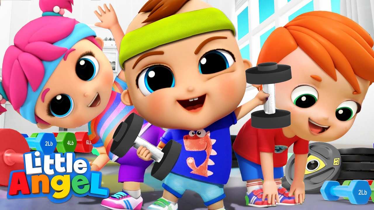 Download It's Exercise Time! Let's Move, Move, Move   Little Angel Kids Songs & Nursery Rhymes
