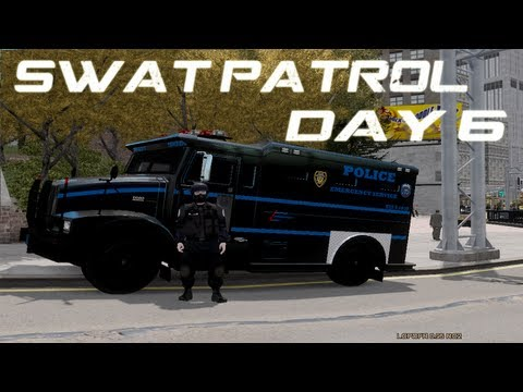 GTA IV: LCPDFR 0.95 RC2 SWAT Day 6- Im always wrong!