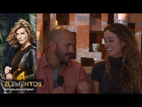 Mónica y Rasta hablan de la gran pista de 4 Elementos | Gran Final Reto 4 Elementos