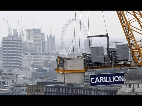 Government contractor Carillion goes into liquidation