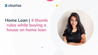Home Loan | 4 thumb rules while buying a house on home loan