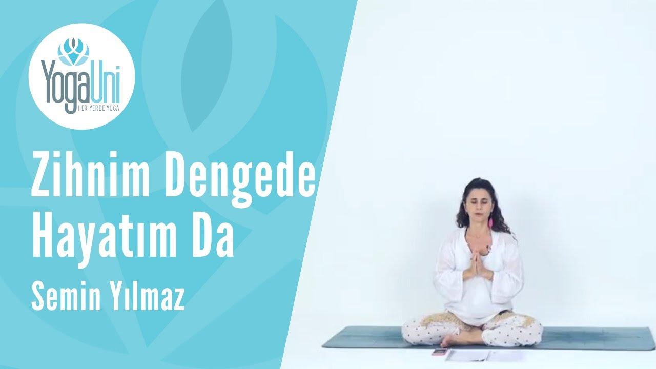 Yoga Journal Ocak 2018 Zihnim Dengede Hayatım Dengede - Semin Yılmaz