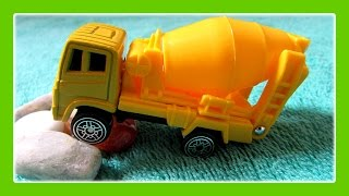 Trucks For Children - Monster Cement Mixer Truck,construction Truck,concrete Truck By Jeannetchannel