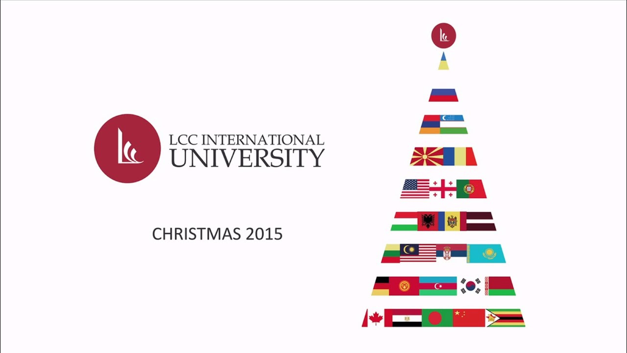 Merry Christmas from LCC International University! - YouTube