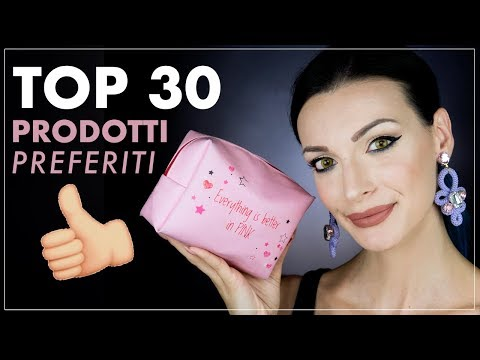 TOP 30 PRODOTTI PREFERITI 👍🏻 tutti in un MINI-BEAUTY 😮