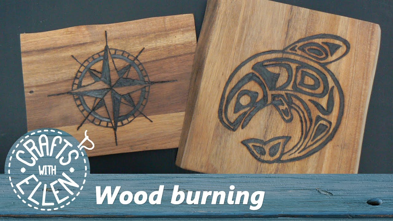 Pyrography Wood Burning For Beginners