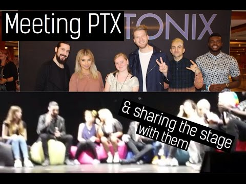 WE MET PENTATONIX | CONCERT VLOG (6/16 Frankfurt)