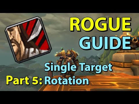 [BFA] Assassination Rogue PvE Guide - Part 5: Single Target Rotation