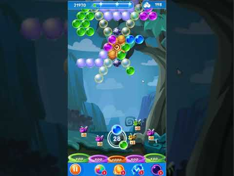 Bubble Shooter Genies Level 90 - No Boosters