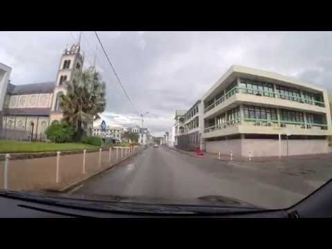 Driving around Paramaribo Suriname 1 - July 31 2016