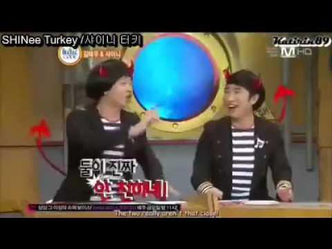 Onew Minho'ya Kızıyor Ve Jonghyun'a Vuruyor [Türkçe Altyazılı]