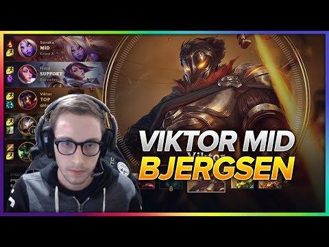 614. Bjergsen Viktor vs  Ahri Mid - Patch 8.8 Season 8 - BJERGSEN STREAM