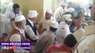 بدء الاحتفال بموسم حصاد البلح والزيتون بواحة سيوة .. فيديو