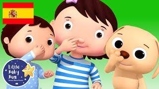 Canciones Infantiles | Colores y las Acciones | P. 2 | Dibujos Animados | Little Baby Bum en Español