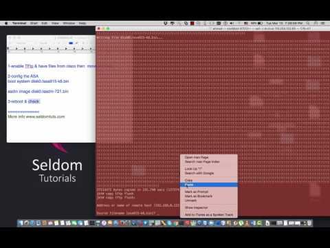 upgrade cisco ASA IOS to version 9 & ASDM 7 - YouTube