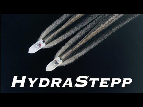 HydraStepp Prototype Flats Fishing Boat