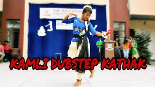 kamli dance video || Bollywood kathak fusion || Dance choreography || the Rajasthan school kotputli