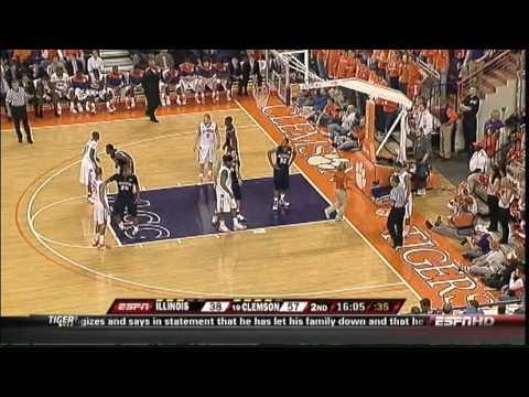 2009 ACC Big Ten Challenge Illinois Clemson FULL GAME