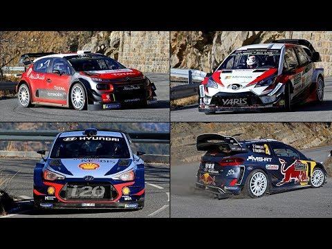 Show WORLD RALLY CAR 2018 - Rallye Monte Carlo 2018  [ C3 WRC - Fiesta WRC - I20WRC - Yaris WRC ]