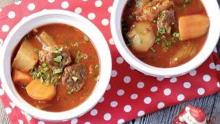 One Pot Hong Kong Borscht Soup 港式羅宋湯 Pressure- Multi-Cooker Beef Shin Stew • Instantpot