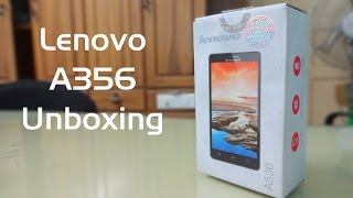 lenovo A536 Unboxing