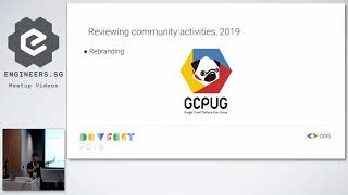 Opening Note - GDG Cloud Singapore Devfest 2019