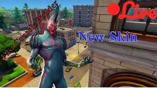 Fortnite Live Gameplay - Fast Console Builder - New Skin