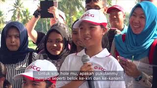 Belajar Golf Bersama Pegolf No 1 Dunia ARIYA JUTANUGARN di SCG Golf Inspirations