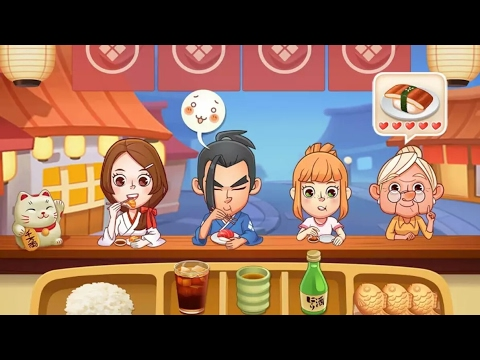 Sushi Master: Cooking story - Android Gameplay (by Togther Fun)