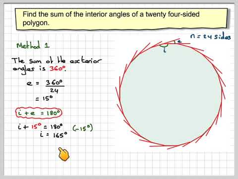 The Sum Of The Interior Angles Of A Polygon